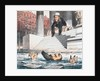 Cartoon of Jay Gould Drowning by Corbis