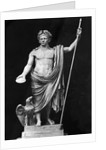 Sculpture of Claudius and Eagle by Corbis