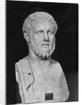 Bust Sculpture of Alcibiades by Corbis