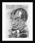 Caricature of Charles Baudelaire by Corbis