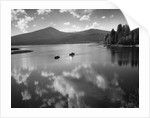 Boating on Upper Klamath Lake by Corbis