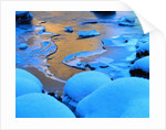 Ice and Snow on a Beach by Corbis