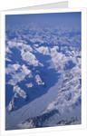 Alaska Range Glaciers in Denali National Park and Preserve by Corbis