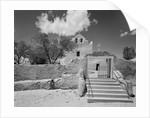 Entrance to the San Jose de la Laguna Mission by Corbis