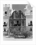 Portal of the Mission Church of San Xavier del Bac by Corbis