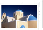 Church in Oia by Corbis