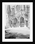 Exterior Showing the Cathedral of Chartres by Corbis