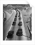 View of Traffic Jam on Grand Central Parkway by Corbis