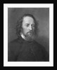 Portrait of English Poet Alfred Lord Tennyson by Corbis