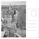 Aerial View of Cornell University Site and Morril Hall by Corbis