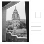 Column View out to Monastery of Penang by Corbis