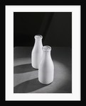 Two Quarts of Milk in Glass Bottles by Corbis