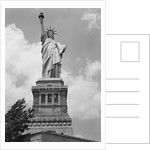 Upper View of Statue of Liberty by Corbis