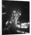 Broadway from Times Square by Corbis