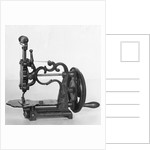 Manual Sewing Machine by Corbis