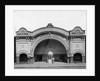 Facade of the Jefferson Theater by Corbis