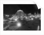 Luna Park with Night Lights by Corbis