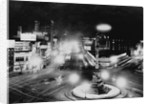 Columbus Circle with Night Lights by Corbis