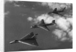 """Britain's """"V-Bomber"""" Trio Flying in Formation by Corbis"""