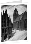 Hannover Town Hall and Church by Corbis