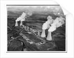 Calder Hall Power Station by Corbis