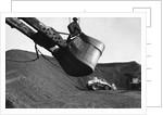 Gas Works Digging Machine by Corbis
