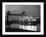 Finnpartner Ferry at Tower Bridge by Corbis