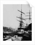 Ships in London Docks by Corbis