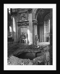 Bomb Crater at Saint Paul's Cathedral by Corbis