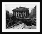 Royal Exchange Overlooks Damage by Corbis