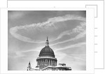 Contrails Over St. Paul's Dome by Corbis