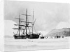 HMS Alert in Arctic Circle by Corbis