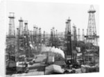 Oil Derricks in California by Corbis