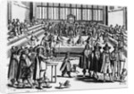 Cromwell Dissolves the Rump Parliament, 1653 by Corbis