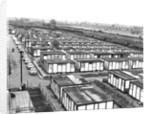 Prefabricated Housing Estate by Corbis