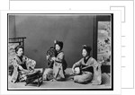 Women Playing Traditional Japanese Instruments by Corbis