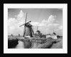 Canalside Windmills by Corbis