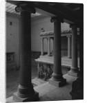 Columns of Pergamon by Corbis