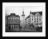 Clock Tower and City Buildings by Corbis
