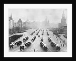 Military Parade in Red Square by Corbis