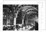 Dining Hall of Buckfast Abbey by Corbis