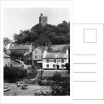 Noss Mayo Harbour, Village and Church by Corbis