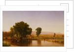 Crossing the Ford, Platte River, Colorado by Thomas Worthington Whittredge
