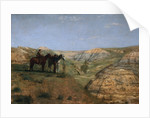 Cowboys in the Badlands by Thomas Eakins