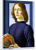 Portrait of a Young Man by Botticelli