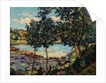 River Landscape by Jean-Baptiste-Armand Guillaumin