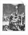 Between Rounds by George Wesley Bellows