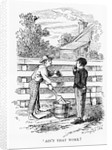 Ain't That Work? Book Illustration from Mark Twain's The Adventures of Tom Sawyer by Corbis