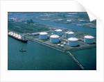 Liquefied Natural Gas Refinery by Corbis