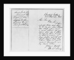 Letter to Abraham Lincoln from Mathew Brady by Corbis
